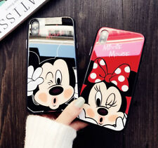 Glossy Disney Minnie Mickey Mouse case cover Defender for Apple iPhone  X 10
