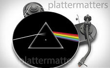 PINK FLOYD Dark Side of the Moon 7 or 12 inch TURNTABLE platter MAT *see others*