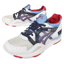 Asics Tiger Gel-Lyte V 5 Grey Navy Womens Retro Casual Shoes Sneakers H5Z9L-1050