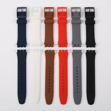 Men Military Silicone Rubber Sport Wrist Watch Band Strap Candy Color Waterproof