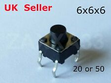 6x6x6mm Micro Miniature Momentary Tactile Tact Touch Push Button Switch