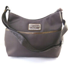 "Ted Lapidus [M8625] - Sac besace ""Ted lapidus"" gris taupe"
