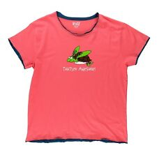 LazyOne Damen Turtley Awesome Pyjama T Shirt