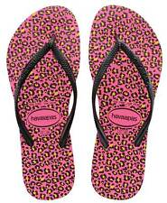 Havaianas Ajustado Chanclas de dedo Animals SHOCKING FUCSIA 4103352 0703 NUEVO