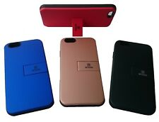 New PU Leather Card Holder, Stand & Shock Resistance Case for iPhone & Samsung