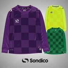 Junior Boys Branded Sondico Lightweight Pro Goalkeeper Jersey Top Size Age 7-13