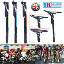 Carbon Fiber MTB Road Bike Bicycle Seat Post Seatpost Tube 27.2/30.8/31.6m