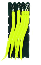 Mustad Charm Sand Eel Yellow for Mustad Fastach Main Line System, 4/0 and 6/0