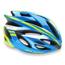 00 Rudy Project Casco Rush, Blue/Lime Fluo (Shiny)