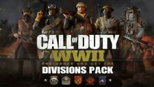 CALL OF DUTY WWII WW2 DIVISION Pack DLC Code Only NO HAY JUEGO PS4 XBOX ONE PC