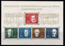 1959-1984 ALEMANIA FEDERAL - YVERT HB 1/17 ** - MNH