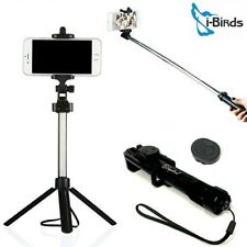 Tripod Stand Selfie Stick For iPhone & Android With Bluetooth Shutter Remote