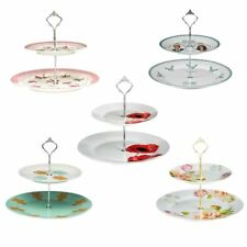 2 Tier Cupcake Muffin Cake Stand Holder Wedding Christmas Party