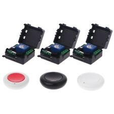 DC 9/12/24V 10A Relay 1CH Wireless Remote Control Switch Transmitter + Receiver