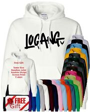 Logan Jake Paul Hoodie Youtuber Maverick Christmas Free Hoodie Present Sweater