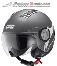 Casco Givi 11.1 air jet titanio mate helmet casque helm moto scooter
