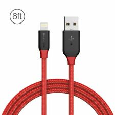 BlitzWolf® Ampcore BW-MF8 2.4A Lightning Braided Data Cable 6ft/1.8m for iPhone