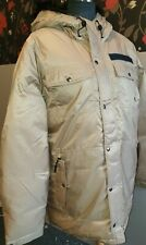 Genuine Nike Parka Puffa Coat 550 Goose Down Padded Hooded RRP £160 UK L XL