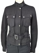 BELSTAFF WOMAN JACKET TRENCH BLACK CODE TRENCH WITHOUT TAG