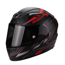 Helmet casque integral casque Scorpion Exo 2000 Evo Air Tasse black rouge S M L