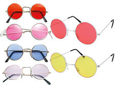 Unisex John Lennon Style Shades Sunglasses Hippie Fancy Outfit Glasses
