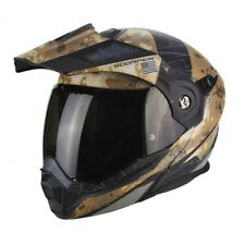 Casco modulare apribile enduro touring adventure moto Scorpion ADX-1 Battleflage