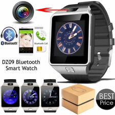 2017 BT Smart Watch Waterproof DZ09 Phone Watch Low Price For Android Black