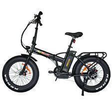 Addmotor MOTAN Electric Bike Bicycle 48V 500W 20'' Fat Tire Folding E-Bike M-150
