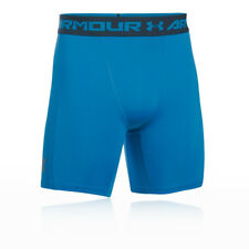 Under Armour Mens Coolswitch Compression Short Blue Sports Gym Running