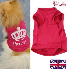 New Pet Clothes For Small Dog S-L Fashion Pet Dog Cat Cute Princess UK seller