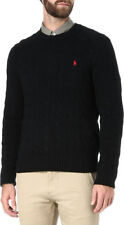 Polo Ralph Lauren Classic Cotton Cable knit crew neck jumper pullover sweater