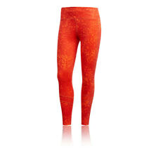 Adidas Mujer How We Do 7/8 Mallas Fondo Pantalones Naranja Deporte Gimnasio