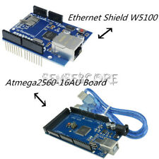 Mega2560 Atmega2560-16AU CH340G UNO R3 Board W5100 Ethernet Shield for Arduino S