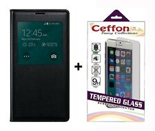 Flip Cover Case for Honor 7X Flip Cover Back Case & Tempered Glass for Honor 7X