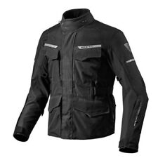 chaqueta de motociclista Rev'it Revit Outback 2 Black negro hombre impermeable