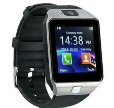 Bluetooth Smart Watch Phone DZ09 With GSM SIM + Card Slot Supports Android & iOS