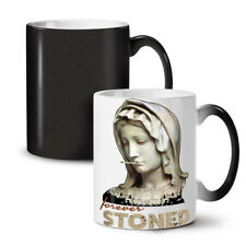 Stoned Weed Stoner Rasta NEW Colour Changing Tea Coffee Mug 11 oz | Wellcoda