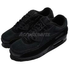 Nike Wmns Air Max 90 LE Triple Black Women Running Shoes Sneakers 325213-043