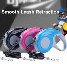 Retractable Dog Leash with smooth traction -Extendable Nylon Ribbon HIGH QUALITY