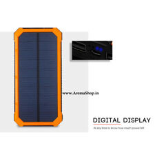 Solar Phone Power Bank Charger Battery Portable Mobile Charger Support