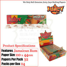 Juicy Jay giamaicano Rum SAPORE King Size sottile per rollare papers-12