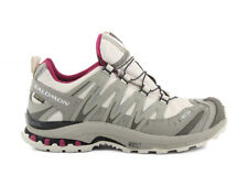 SALOMON XA PRO 3D ULTRA 2 GTX 120396 LIGHT GREY TITANIUM trekking scarpe donna