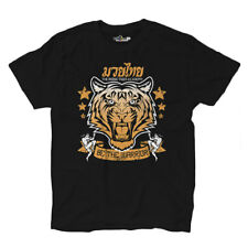 T-Shirt Muay Thai Be The Warrior Lottatori Tigre Arti Marziali Clinch Boxe 2