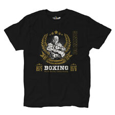 T-Shirt Maglietta Pugilato Boxing Tournament World Champion Pugile Sport 1  Uomo