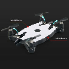 Mini Foldable RC Pocket Selfie Drone Helicopter Adqucopter W/720P HD Camera NEW