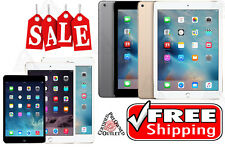 Apple Silver / iPad 2,3,4 / Air / Mini 16GB-32GB-64GB-128GB Wi-Fi + Cellular