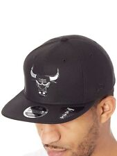 New Era Black Blacked Out 9Fifty - Chicago Bulls Snapback Cap