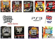 PS3 GUITAR HERO rockband MEGA GAMES BUNDLE - Select your game - Legends Rock etc