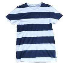 G-Star Raw Sprayed Special Stripe T-Shirt, White / Navy