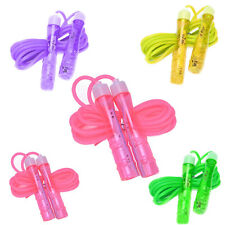 Assorted Gel Skipping Jumping Rope Gym Fitness Indoor Home Exercise Clibing